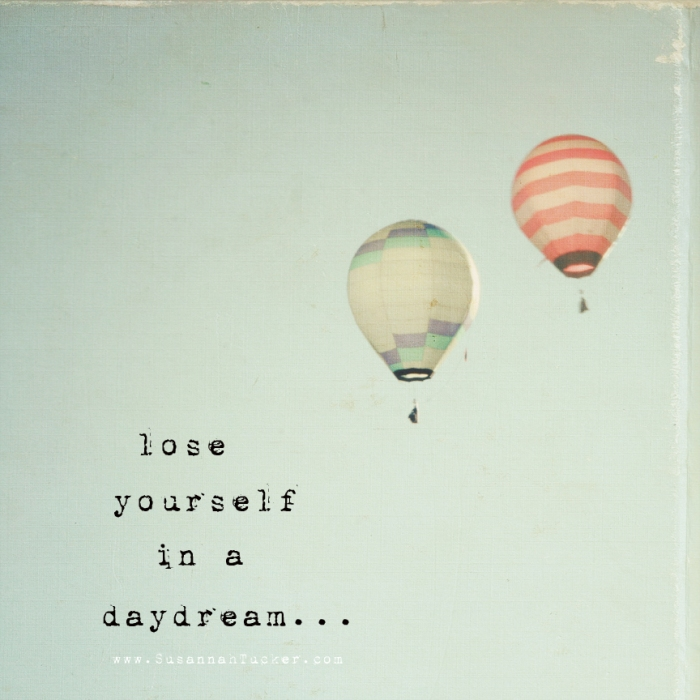 lose yourself in a daydream watermakredy