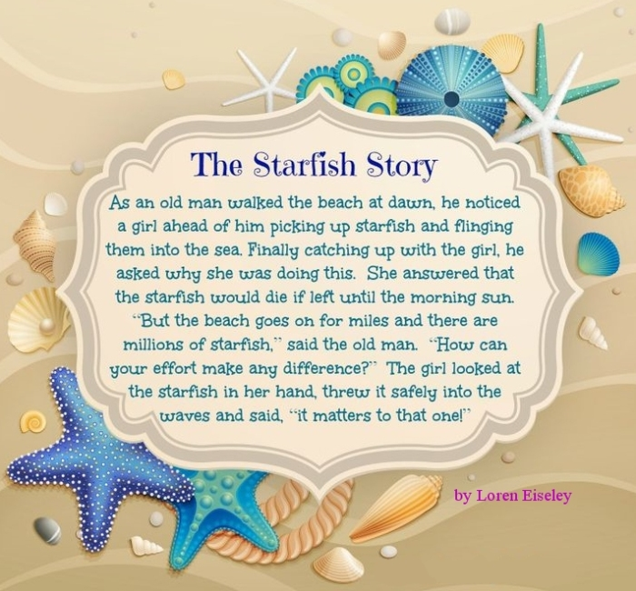StarfishStoryLorenEiseley