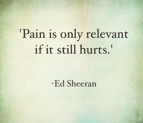 pain only hurts