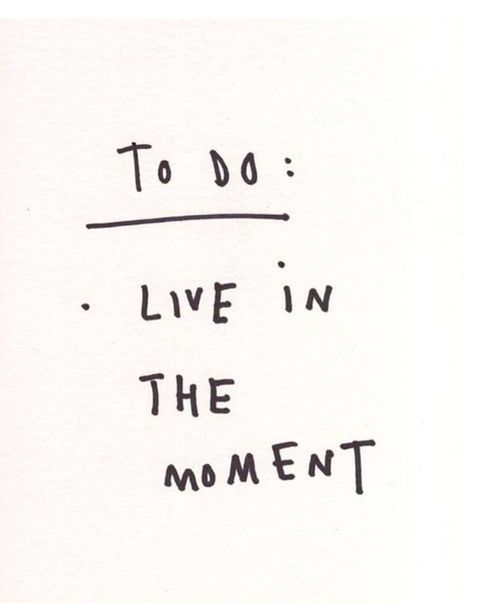 live in the oment